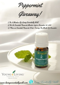 Peppermint Giveaway!