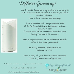 Diffuser Giveaway